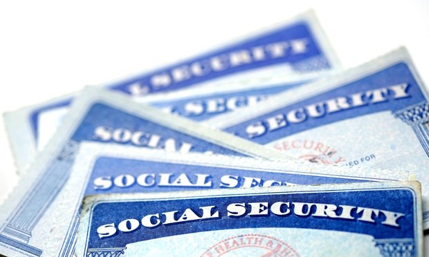Social Security card, SSN