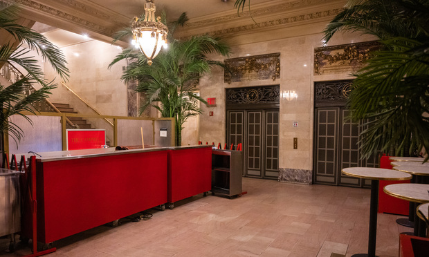 The Campbell, a bar in Grand Central Station