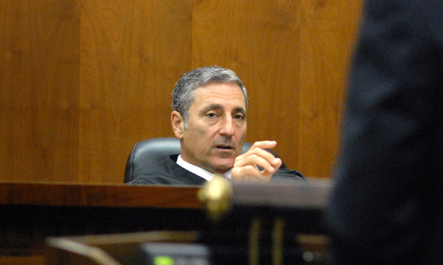 Judge Dorian K. Damoorgian. Photo: Melain Bell/ALM.