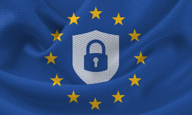 GDPR flag lock
