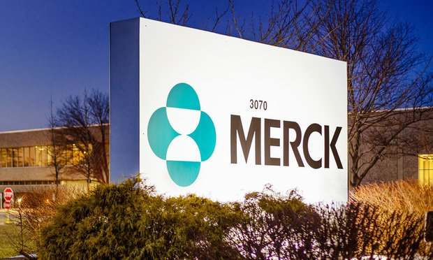 Merck sign