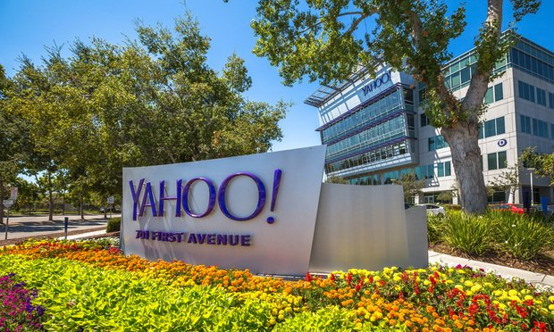 Yahoo headquarters in Sunnyvale, California.