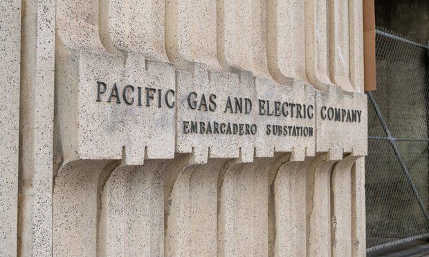 Pacific Gas & Electric location located in San Francisco.