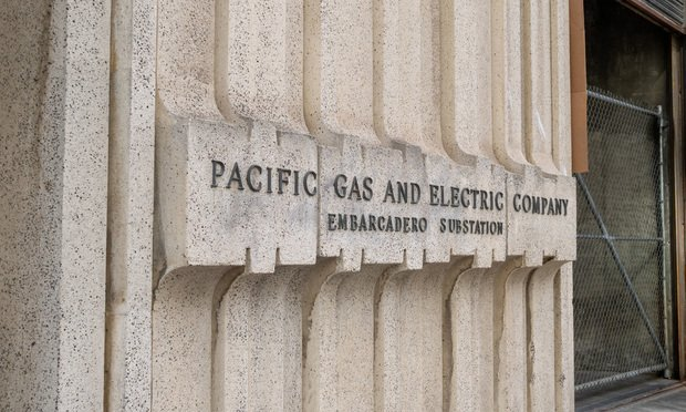 Pacific Gas & Electric location located in San Francisco. Credit: David Tran Photo/Shutterstock.com