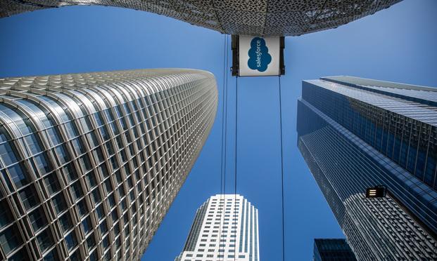 Salesforce Tower in San Francisco (Photo: Jason Doiy/ALM)