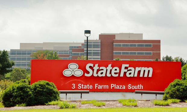 State Farm's corporate headquarters.