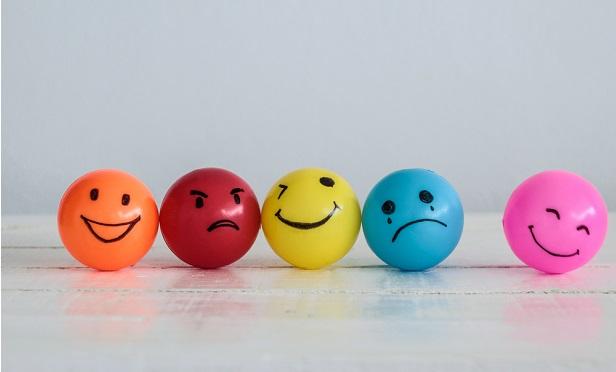 Smiley face balls