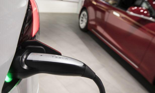 Tesla car charing
