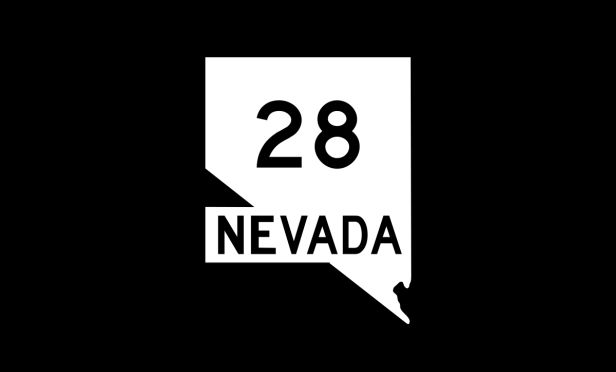 Nevada State Route sign