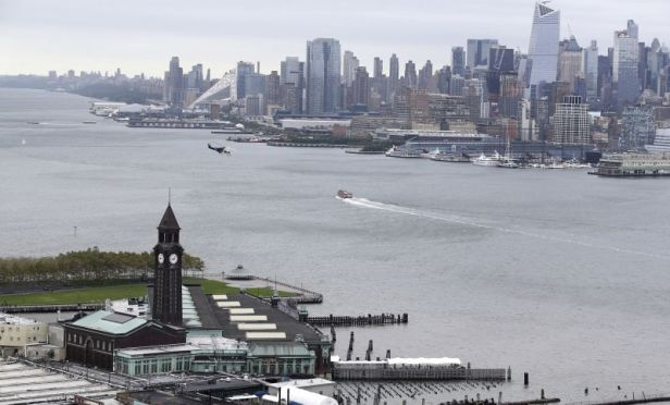 New York and New Jersey harbor