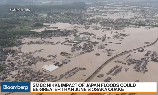 Flooding in Japan
