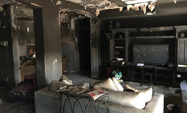 Safety after the fire.