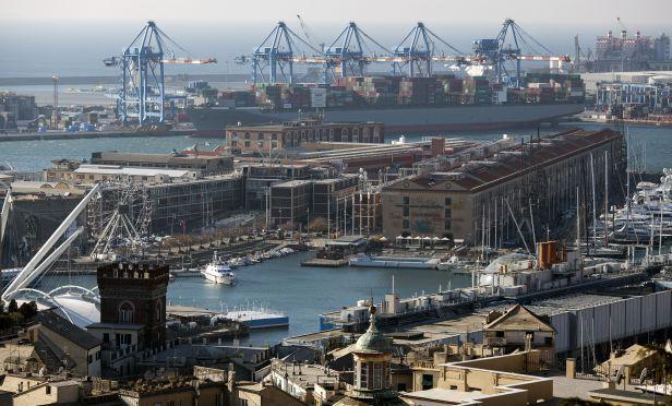 Genoa, Italy port