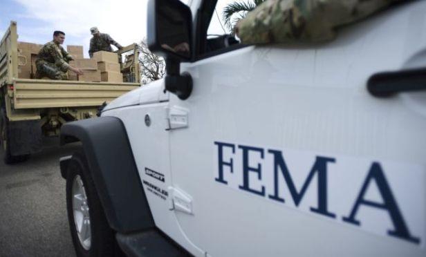 FEMA jeep