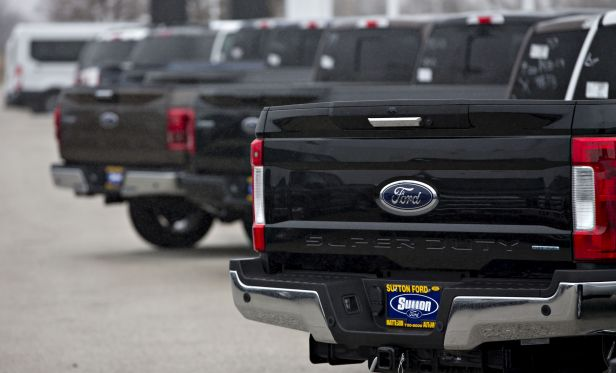 Ford F-150 pickups