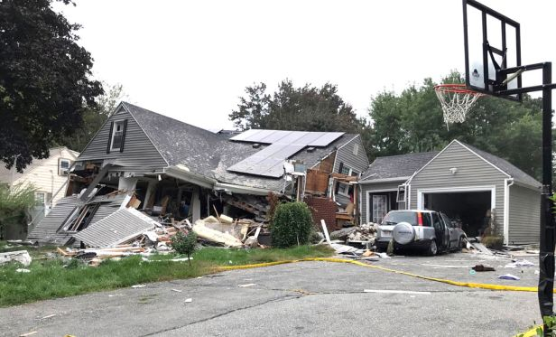 home destroyed after gas explosion