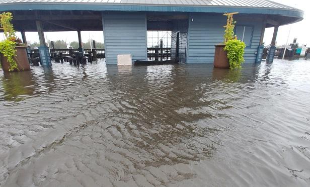 Damage after Hurricane Florence.