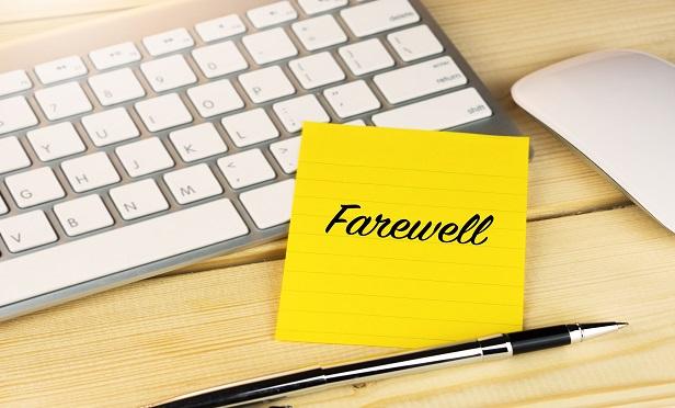 Farewell, but not goodbye