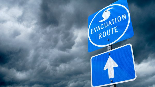 Clouds-sign-hurricane-evacuation-route