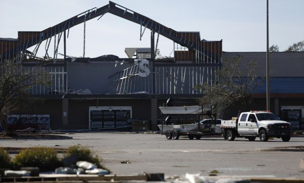 Hurricane Michael damaged Lowe's business