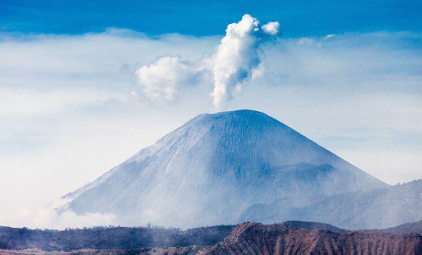 Semeru volcano, Java island, Indonesia