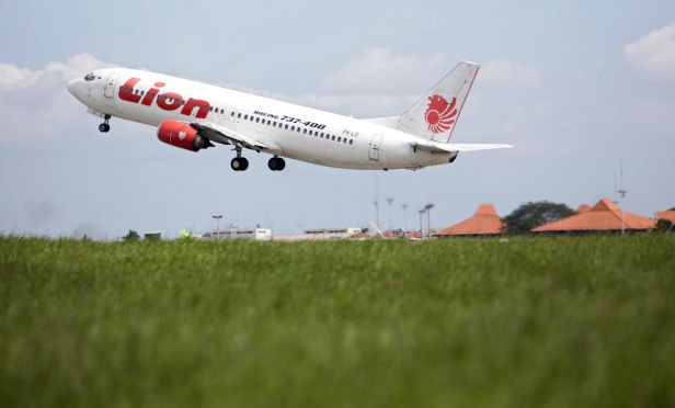 Lion Air Boeing aircraft