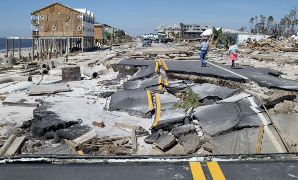 A large part of today's natural disaster exposures has to do with shifts in weather patterns, resulting in increased frequency and severity of events. (Photo: Bloomberg)