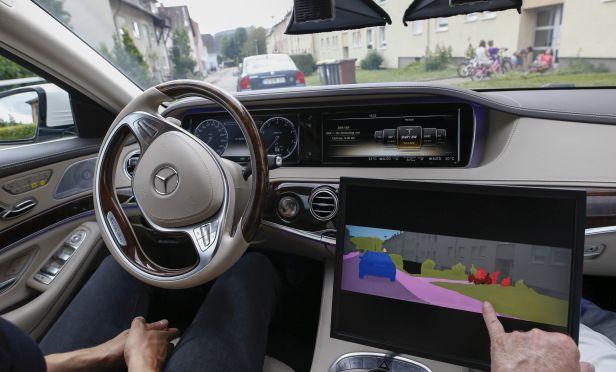 Autonomous vehicle.