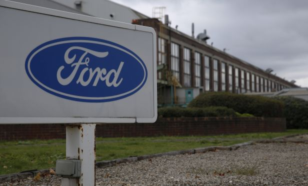 Ford engine assembly plant in U.K.