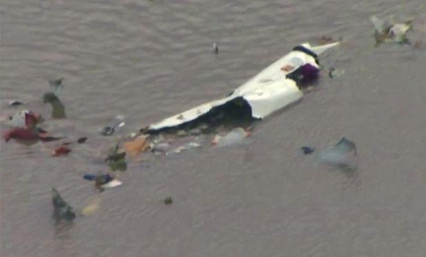 cargo plane crash debris