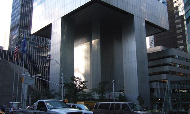 Construction defects affect New York landmark.