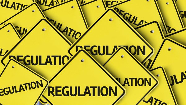 regulation-yellow-traffic-signs-with-regulation