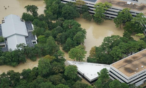 Hurricane flooding preparations.