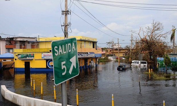 In 2017, 'business as usual' was nearly impossible in Puerto Rico in the immediate aftermath of Hurricane Maria. ((Photo by Sgt. Jose Ahiram Diaz-Ramos)