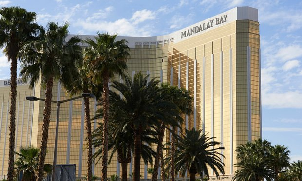 On October 1, 2017, a shooter fired at the Route 91 Harvest festival from the Mandalay Bay resort, killing 58 victims. (Photo: Bridget Bennett/Bloomberg)