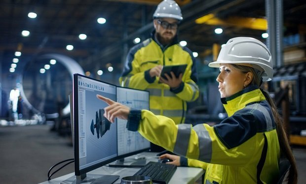 "Manufacturing is undergoing radical change as the industry transforms to ""smart,"" interconnected, data-driven operations. (Shutterstock)"
