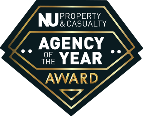 NU Property & Casualty Agency of the Year Award logo