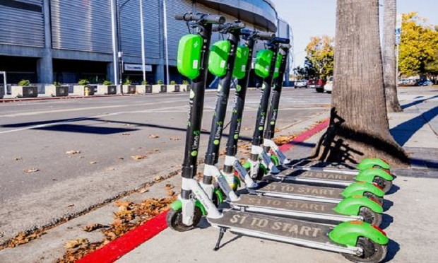 There have been about 1,500 incidents of people seeking treatment for e-scooter-related injuries in the U.S. since late 2017, said Consumer Reports. (Photo: Shutterstock)
