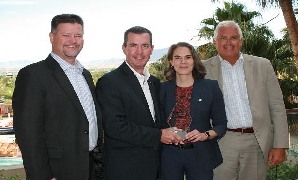 Trailblazer of the year award winners.