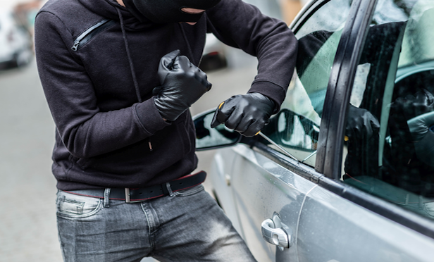 Never leave your car running unattended, even if it's just for a quick errand. And always close your windows completely when you leave the car. Opened or even slightly ajar windows are an easy target for an auto thief. (Photo: Shutterstock)