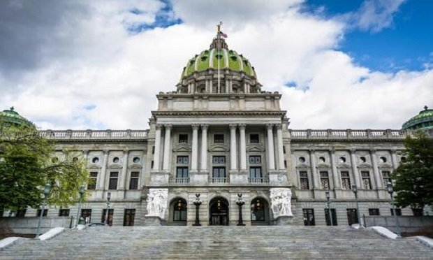 The Pennsylvania State Capitol Building, in downtown Harrisburg, Pennsylvania. (Photo: Shutterstock)