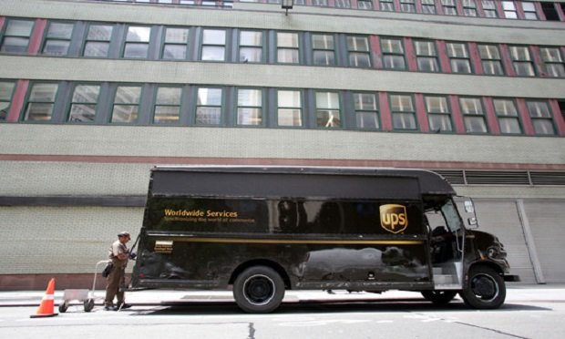 """""""While fully autonomous, driverless vehicles still have development and regulatory work ahead, we are excited by the advances in braking and other technologies that companies like TuSimple are mastering,"""" said UPS's chief strategy and transformation officer, Scott Price. (Photo: Northfoto/Shutterstock)"""