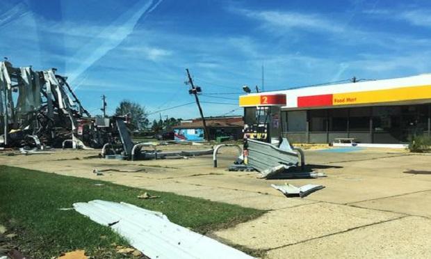 Damage from Hurricane Michael in southwest Georgia. (Photo: Bill Custer)