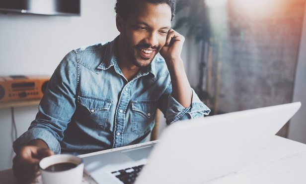 Work-from-home arrangements can employers deliver enhanced employee benefits and help solve staffing needs. (Photo: Shutterstock)