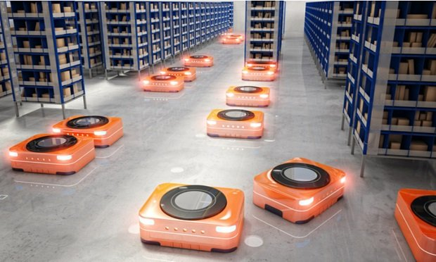 The rapid advancements in AI, machine learning, and automation are bound to improve the current situation of warehouse robotics. (Photo: Allied Market Research)