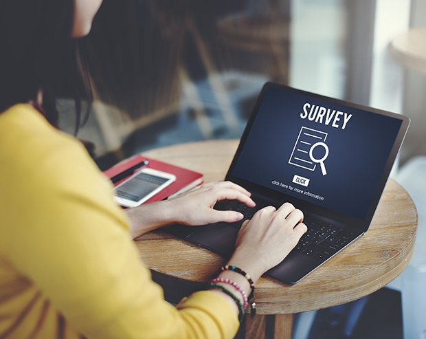Woman-computer-survey