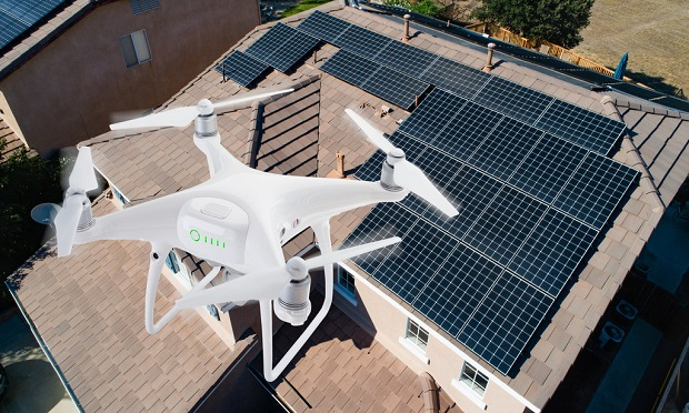 Drones and cloud-based analytics can be rapidly applied to the property inspection experience. (Shutterstock)