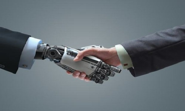 What will human-machine collaboration look like? (Photo: Shutterstock)