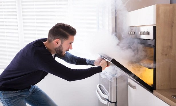 As a result of efforts to stem the spread of COVID-19, home insurance carriers may see an uptick in claims resulting from kitchen accidents, water overflow damage or sewer backups. (Shutterstock)
