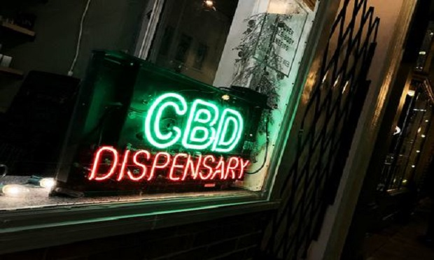 CBD dispensary in Baltimore. (Photo: Diego M. Radzinschi/ALM)